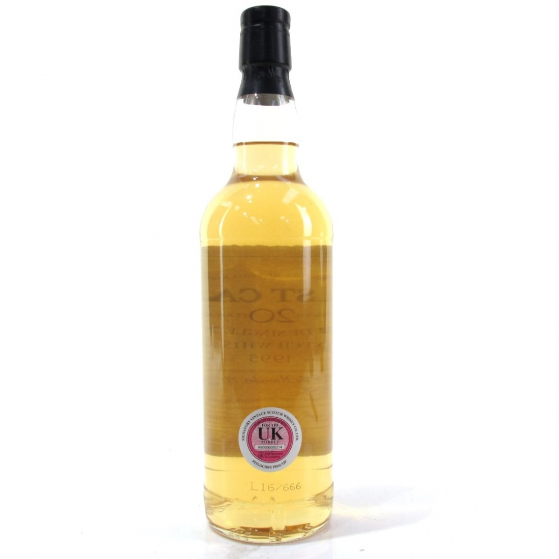 Glen Keith 1995 First Cask 20 Year Old