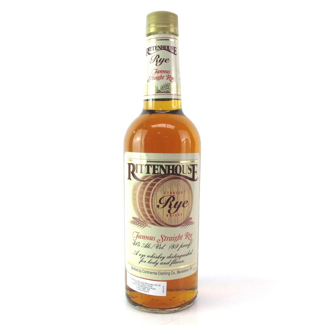 Rittenhouse Straight Rye 80 Proof