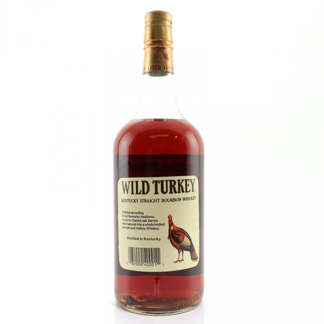 Wild Turkey 8 Year Old 101 Proof 1 Litre 1990s