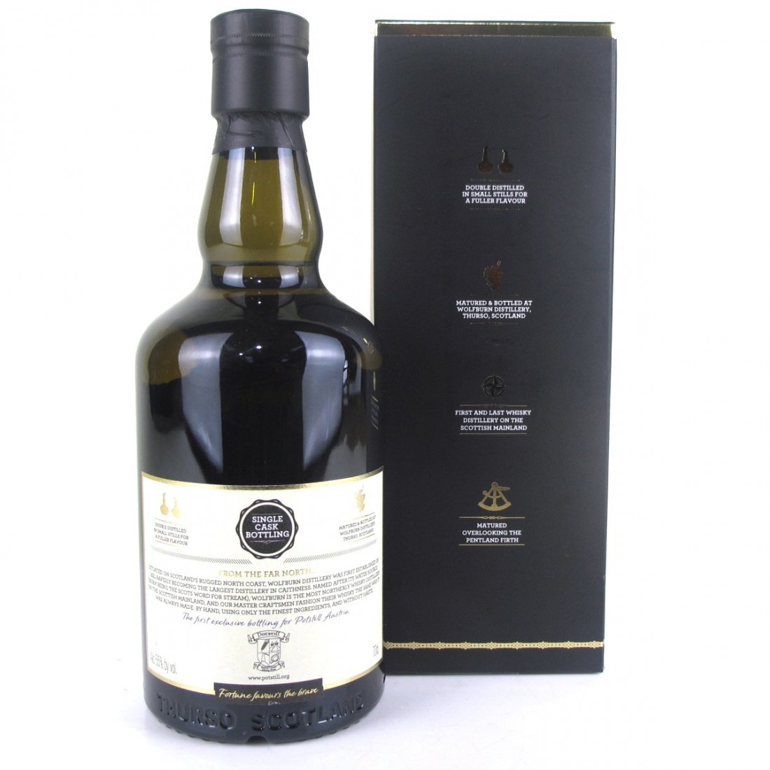 Wolfburn Single Peated Quarter Cask / Potstill Exclusive