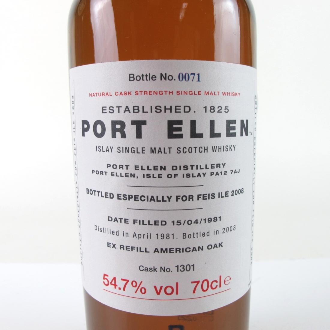 Port Ellen 1981 Feis Ile 2008