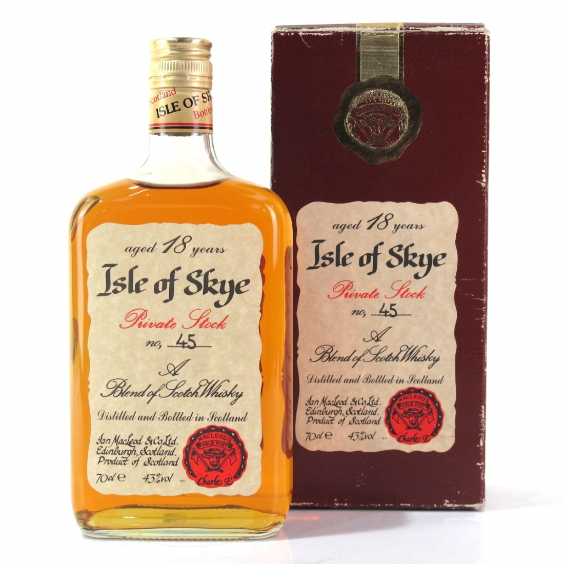 Isle of Skye 18 Year Old Private Stock