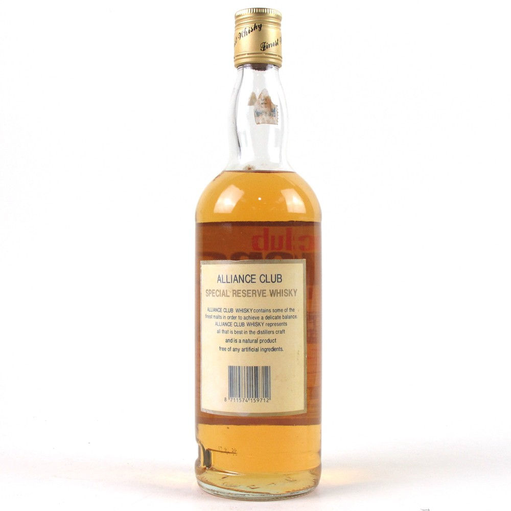 Club Alliance Whisky