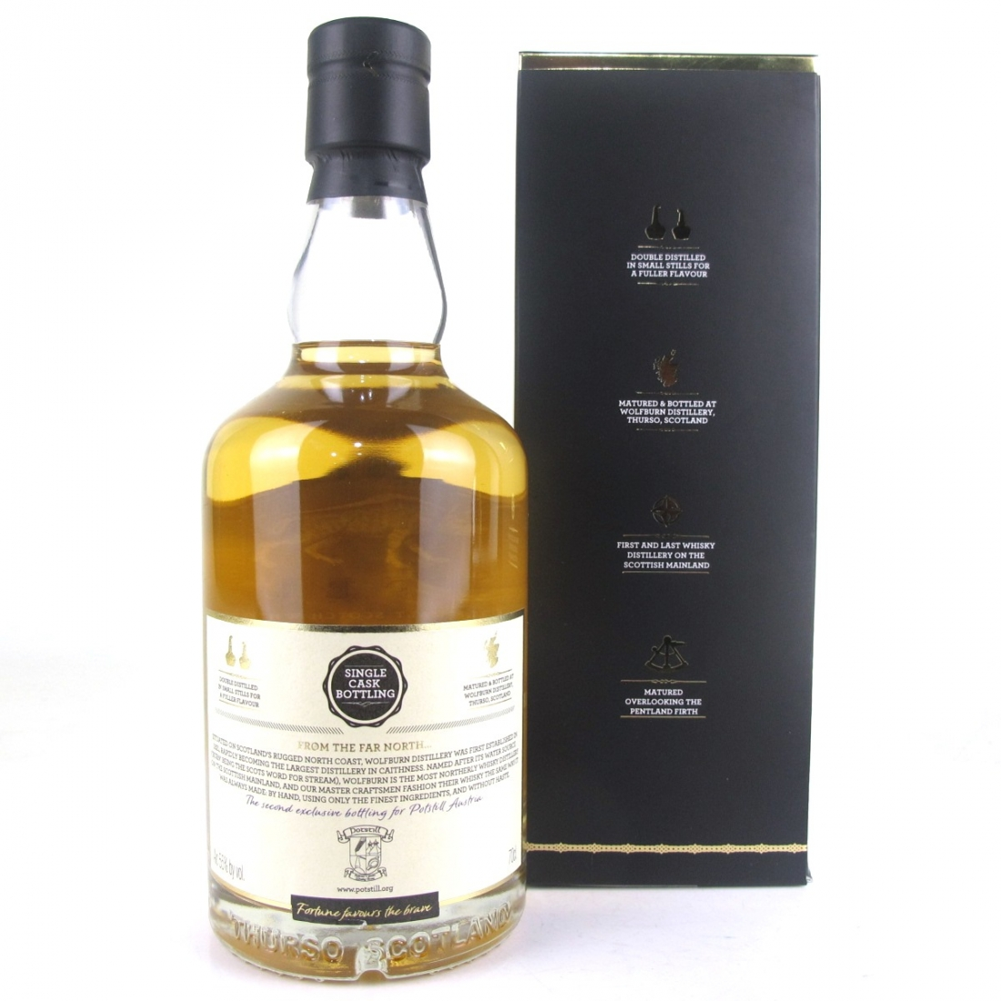Wolfburn Single Quarter Cask / Potstill Exclusive