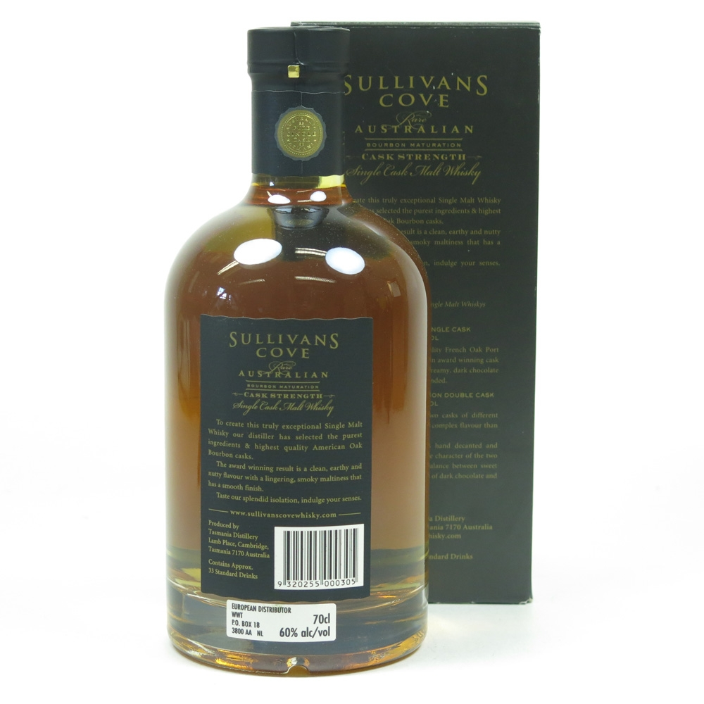 Sullivan's Cove Bourbon Cask Batch HH0270