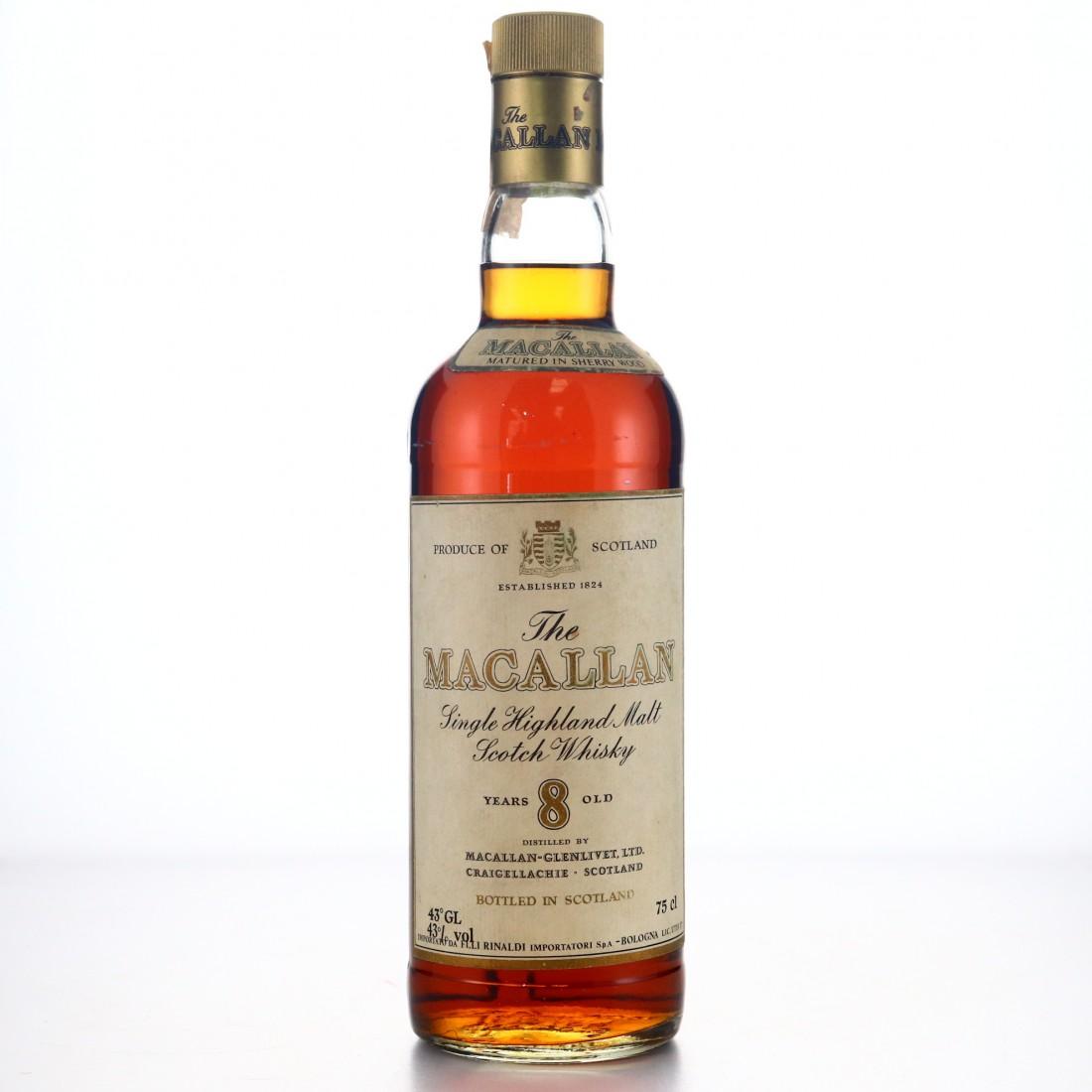 Macallan 8 Year Old early 1980s / Rinaldi Import