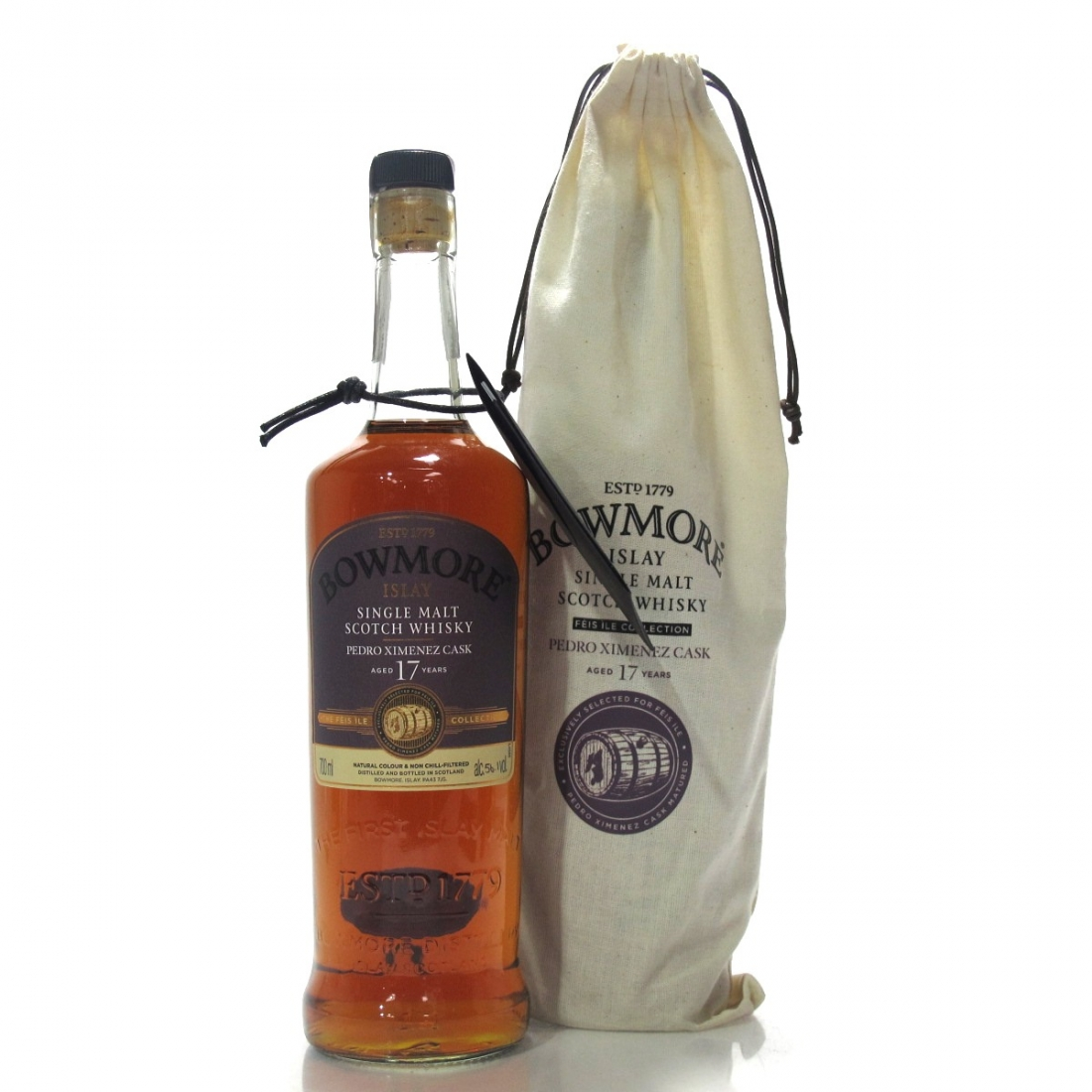 Bowmore 1999 Hand Filled 17 Year Old PX Cask #24 / Feis Ile 2016