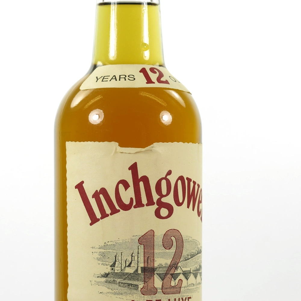 Inchgower 12 Year Old De luxe 1970s