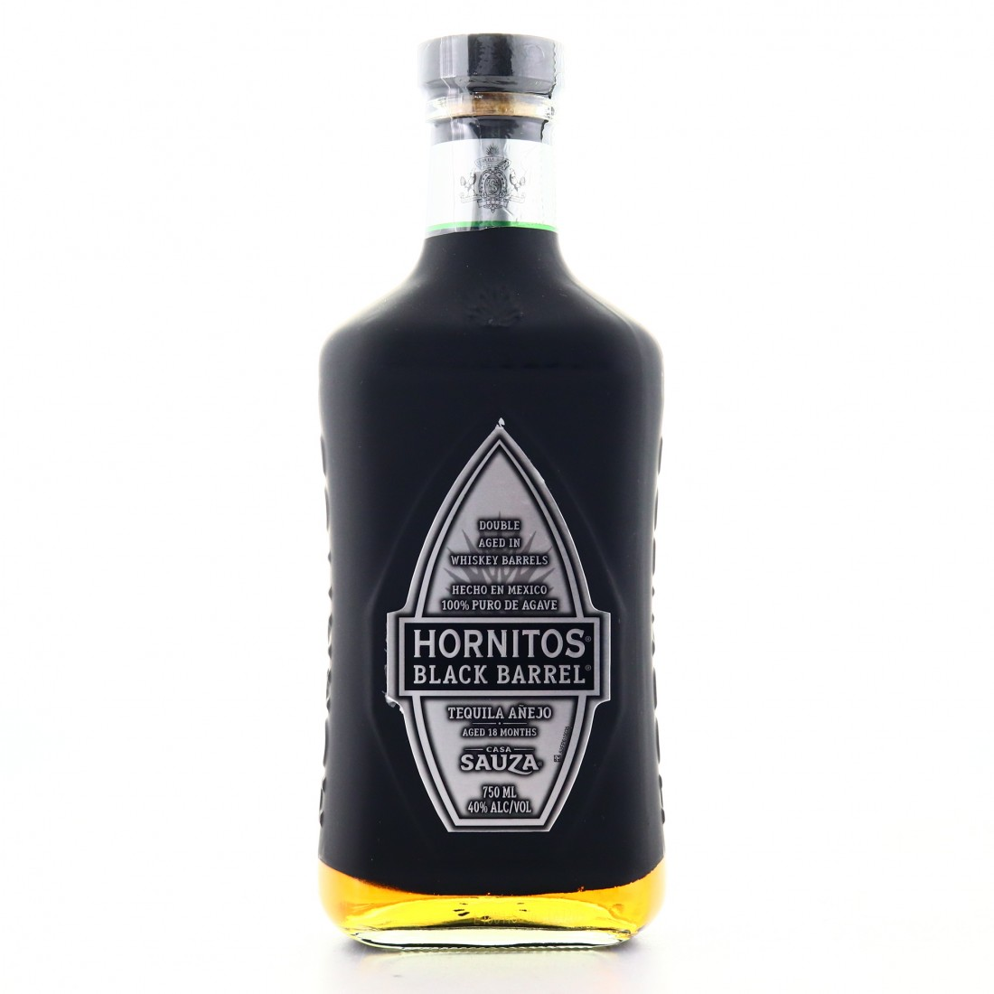 Hornitos Black Barrel Tequila Anejo 75cl / US Import