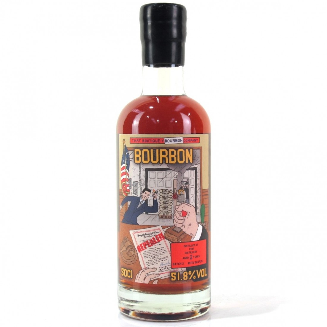 FEW Spirits That Boutique-y Whisky Company 2 Year Old Bourbon Batch #2