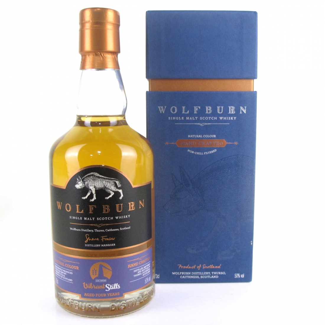 Wolfburn Vibrant Stills 10th Anniversary of Alba Import