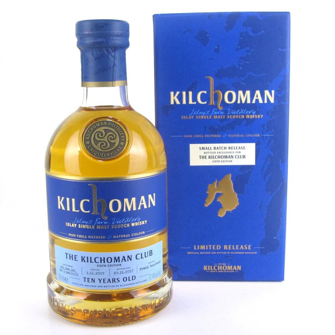 Kilchoman 10 Year Old / Kilchoman Club 6th Edition