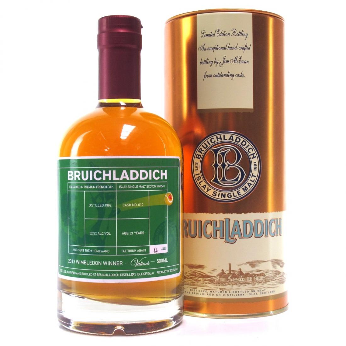 Bruichladdich 1992 Valinch / Wimbledon Winner 2013