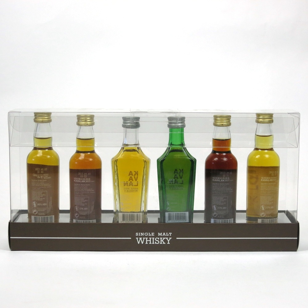 Kavalan Miniature Gift Pack 6 x 5cl