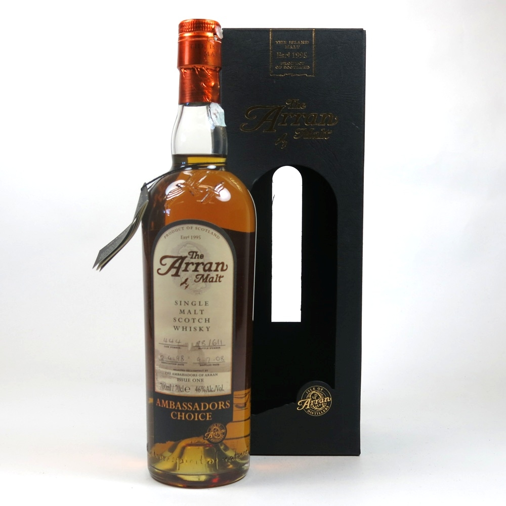 Arran Ambassador's Choice 1998 Single Cask