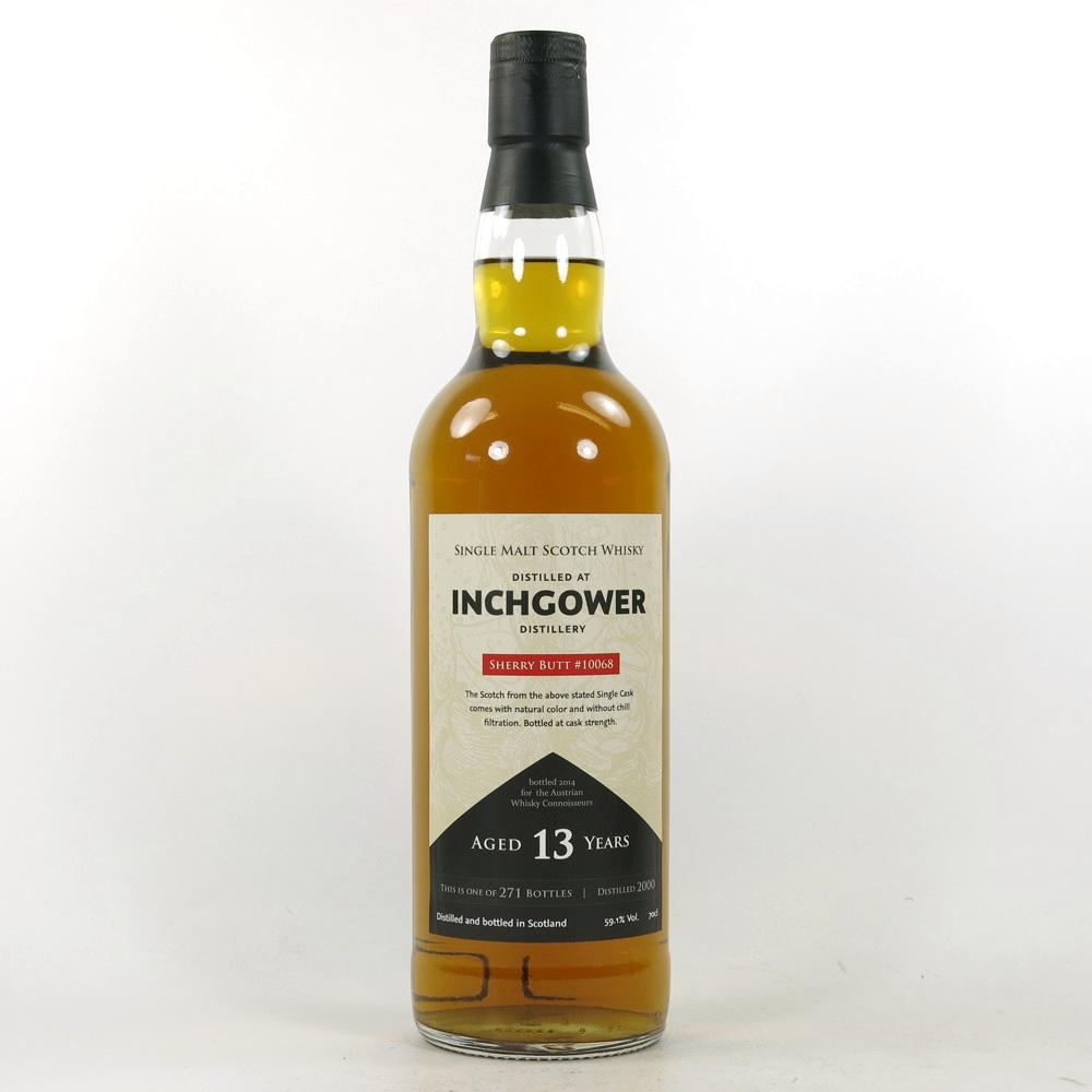 Inchgower 2000 Austrian Whisky Connoisseurs 13 Year Old