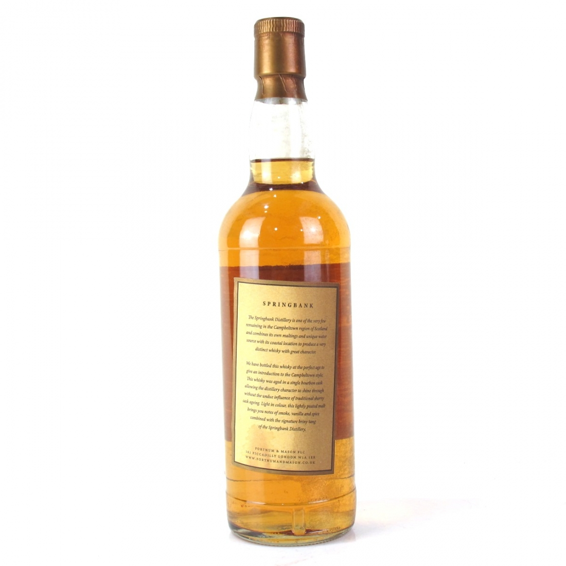 Springbank 1991 Fortnum and Mason 13 Year Old