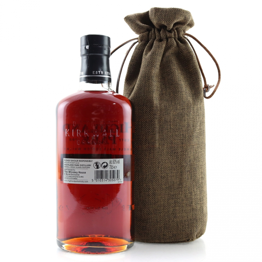 Highland Park 2001 Single Cask 15 Year Old #384 / THW Exclusive