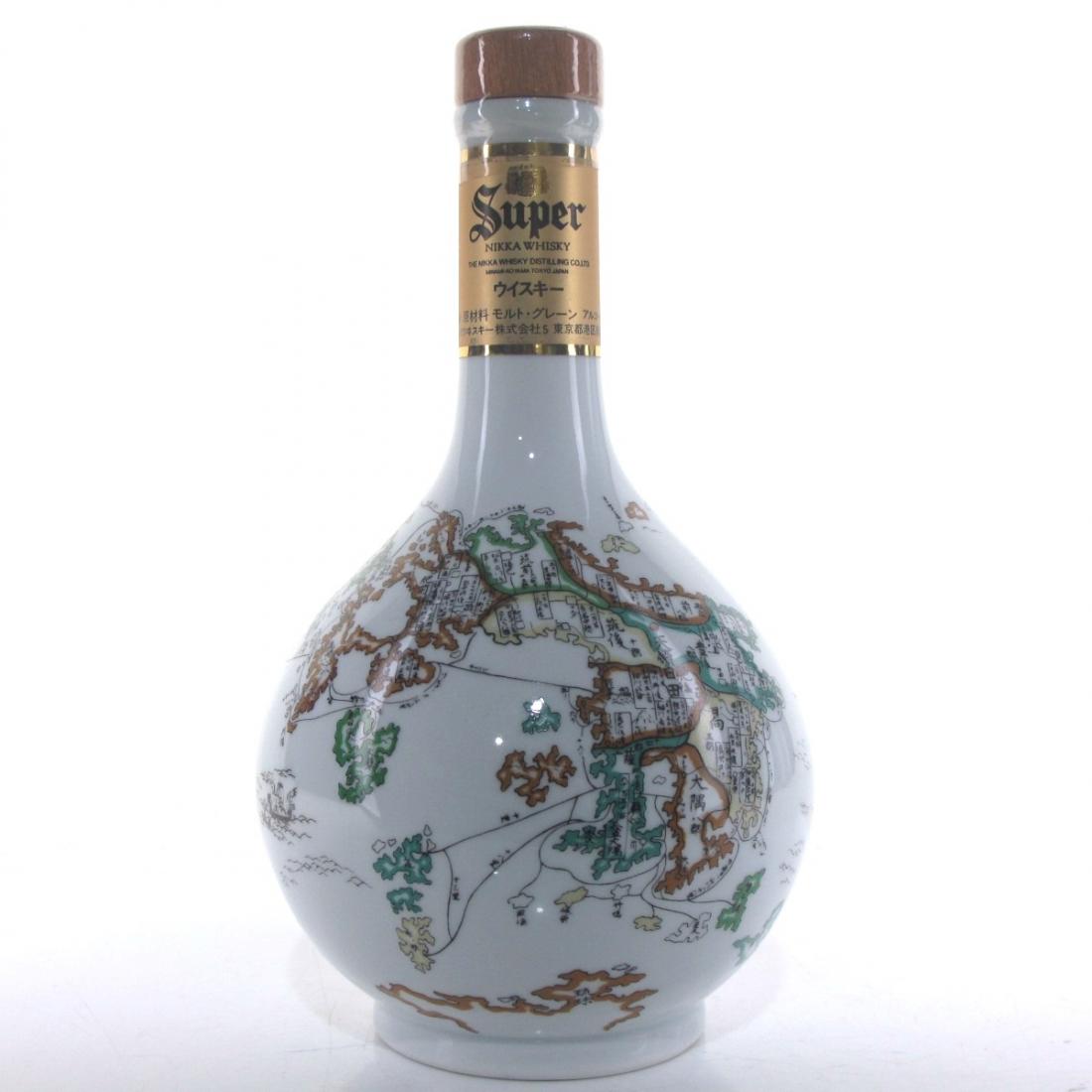 Nikka Super Whisky / Arita Ceramic Decanter 60cl