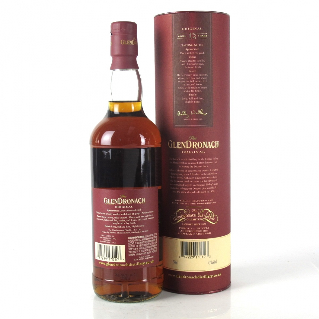 Glendronach 12 Year Old 75cl / US Import