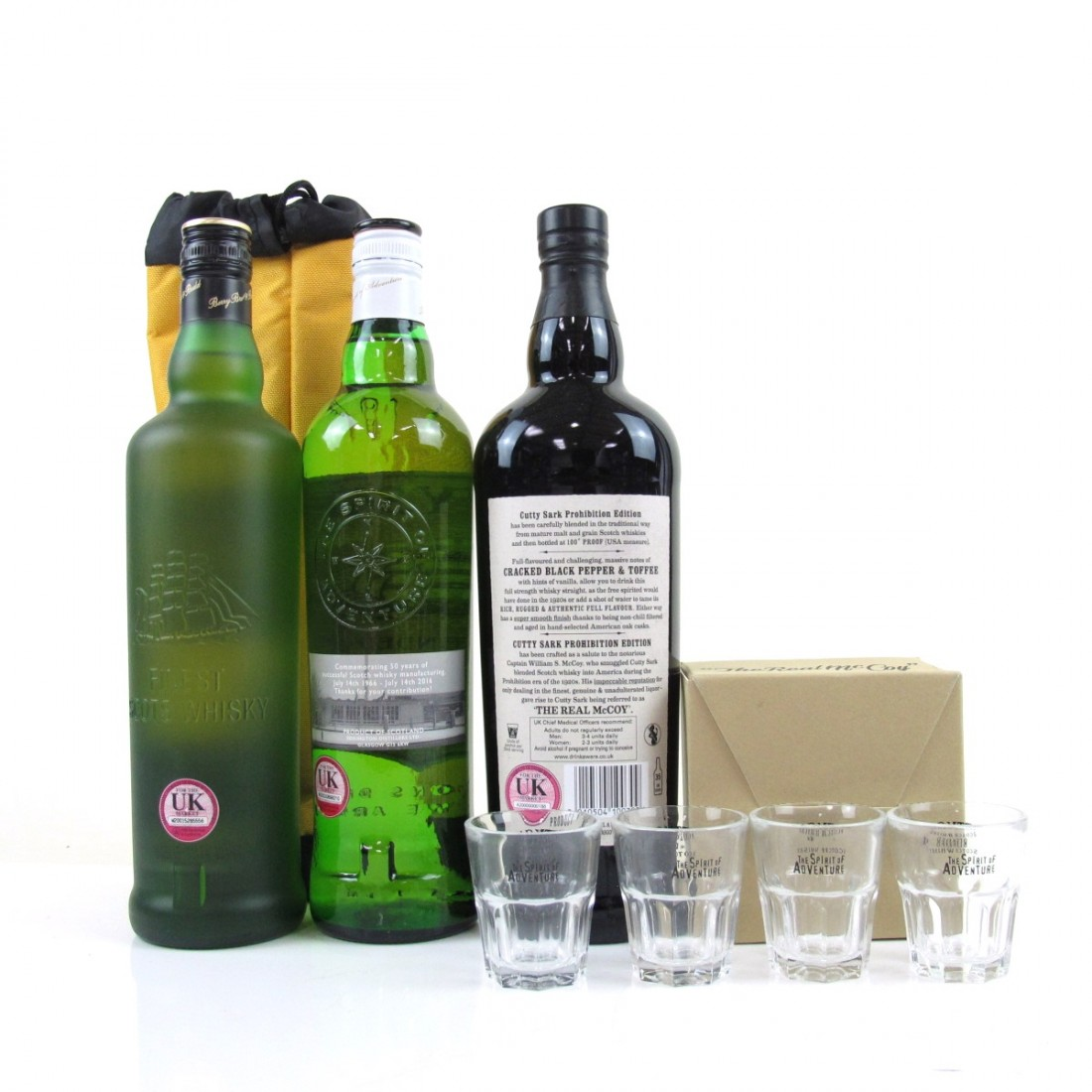 Cutty Sark Selection 3 x 70cl / Including Commemoration of the Acquisition of the Cutty Sark Brand 2010