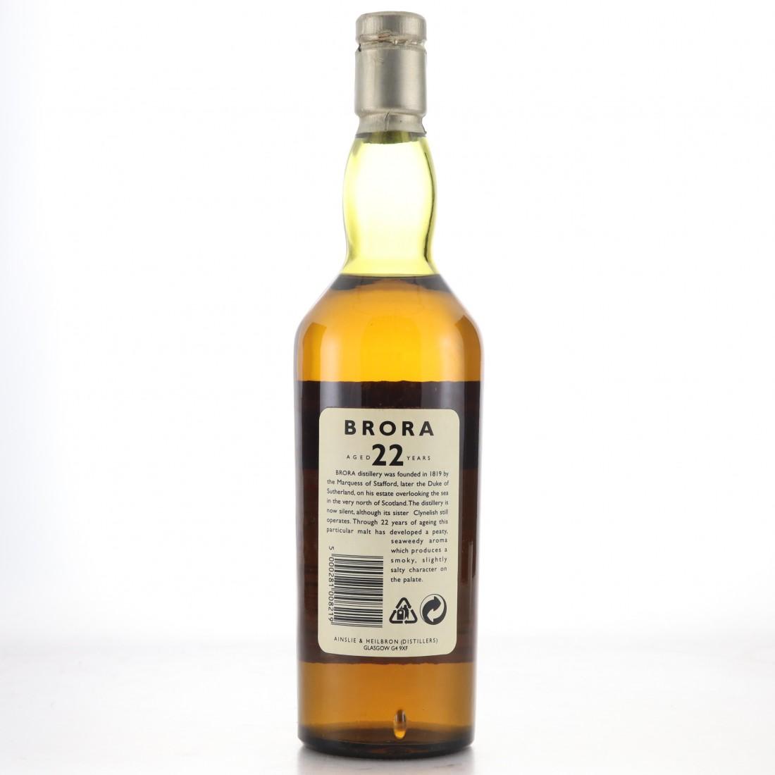 Brora 1972 Rare Malt 22 Year Old / 58.7%