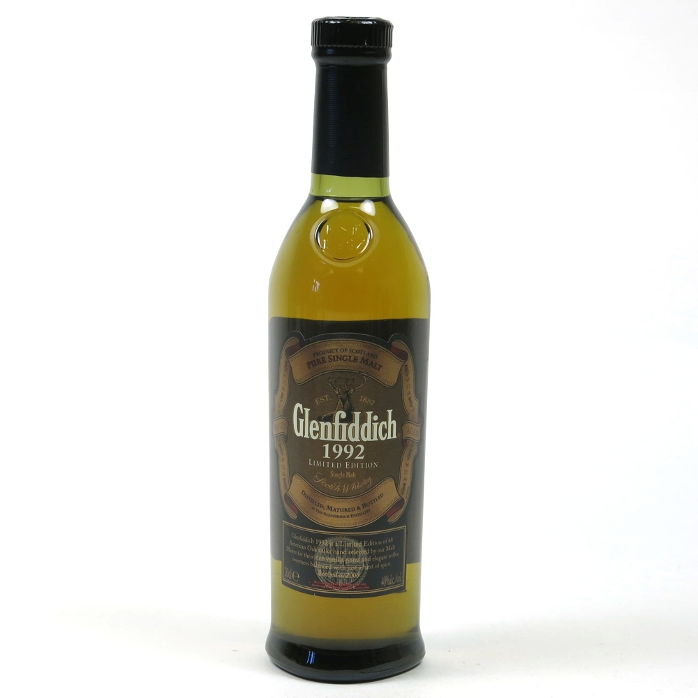 Glenfiddich 1992 20cl