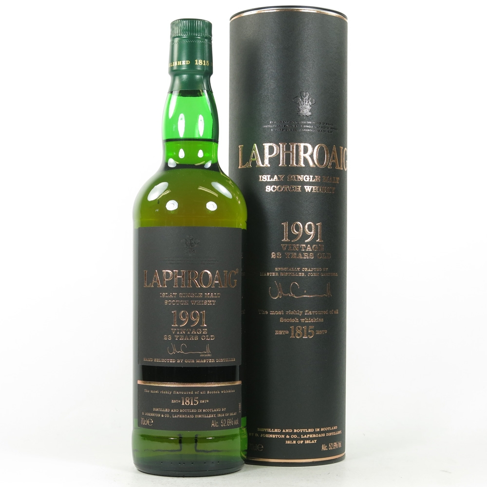 Laphroaig 1991 23 Year Old
