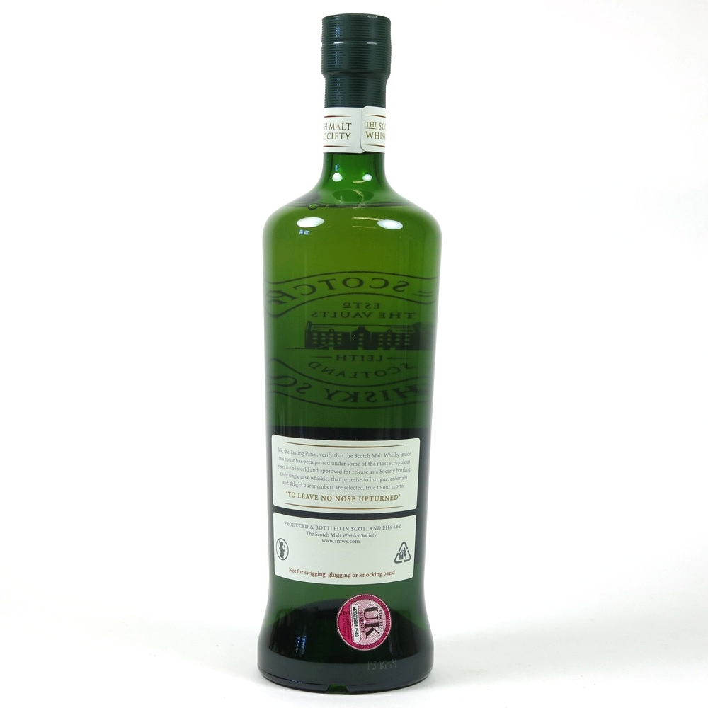 Arran 1999 SMWS 13 Year Old 121.60 Back
