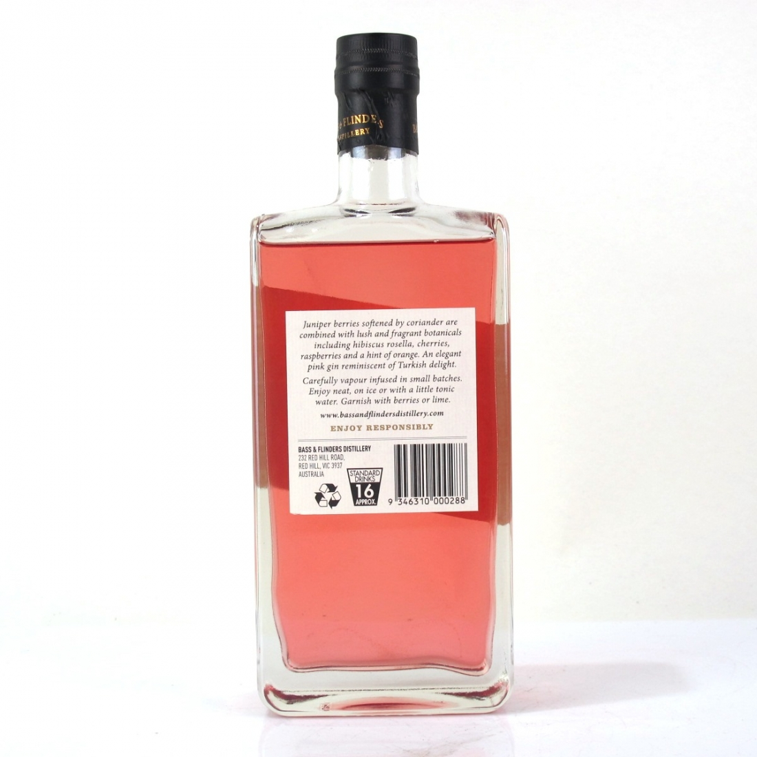Bass and Flinders Cerise Gin