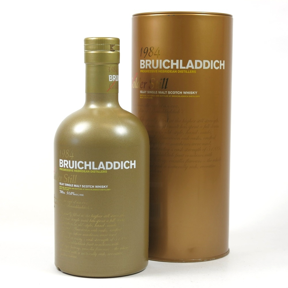 Bruichladdich 1984 Golder Still 23 Year Old Front