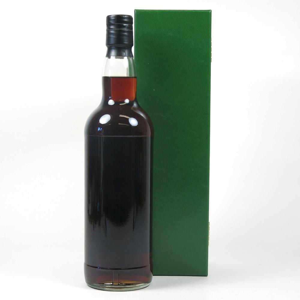 Cadenhead's 1975 Green Label Demerara Rum Back