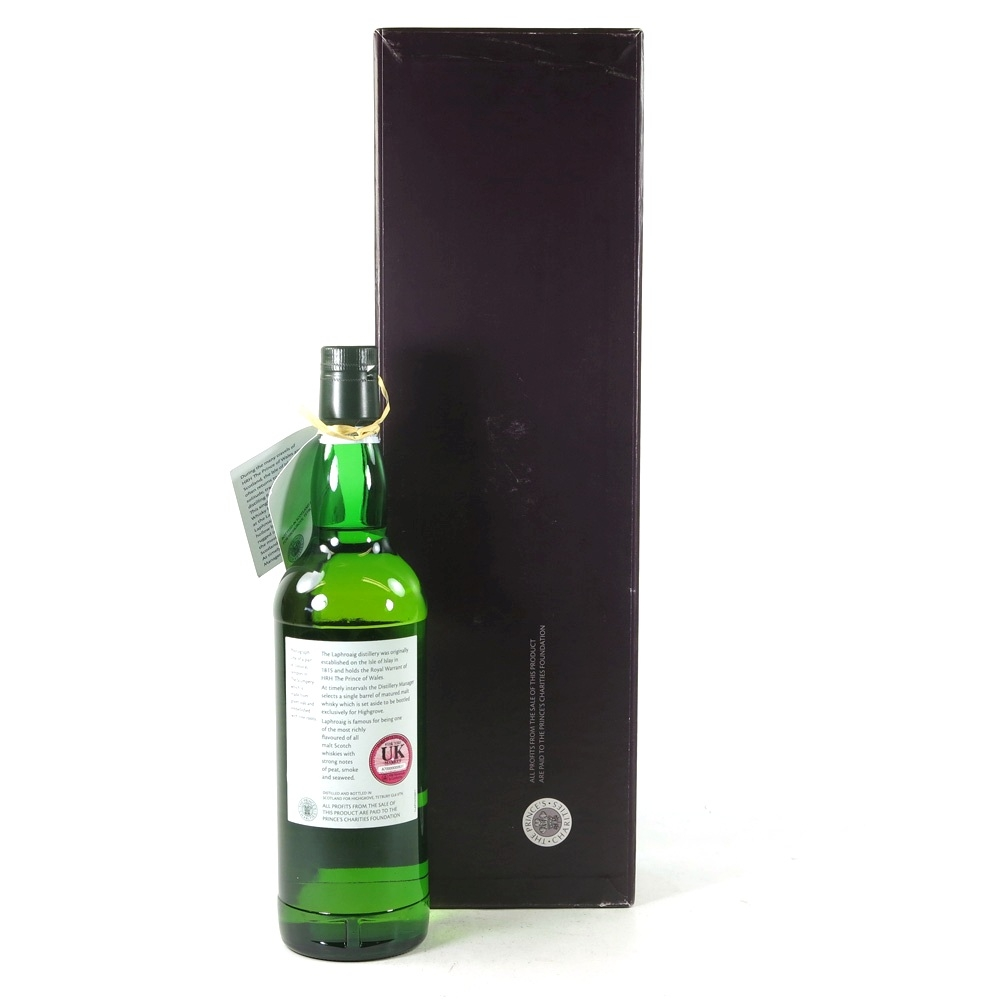 Laphroaig 1997 Highgrove Single Cask #135