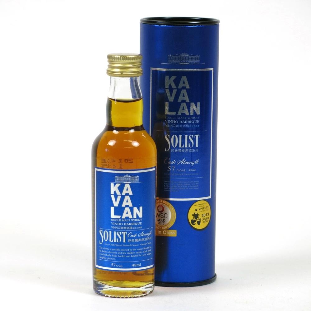 Kavalan Solist Vinho Barrique Miniature 5cl Front