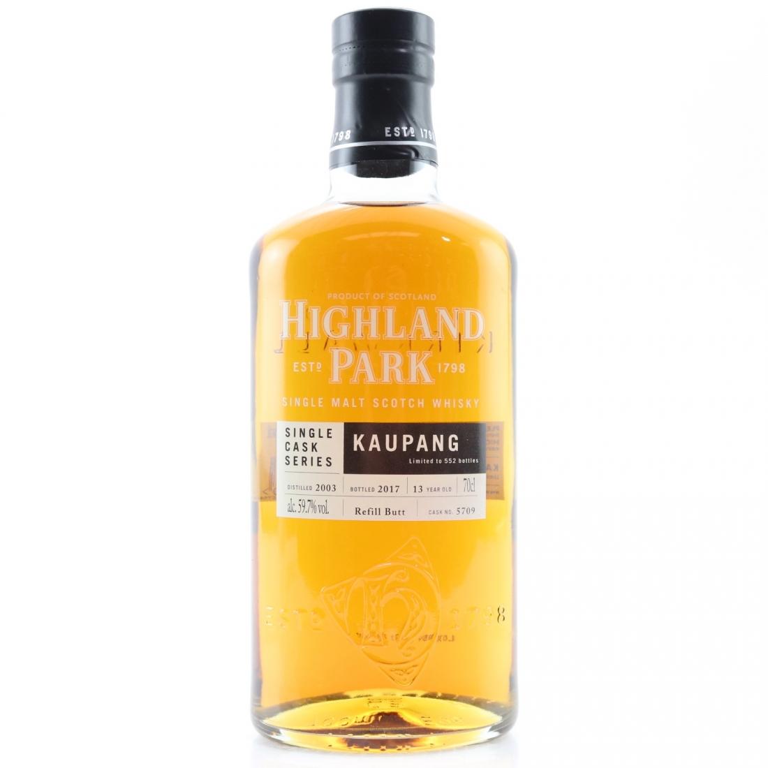 Highland Park 2003 Single Cask 13 Year Old #5709 / Kaupang