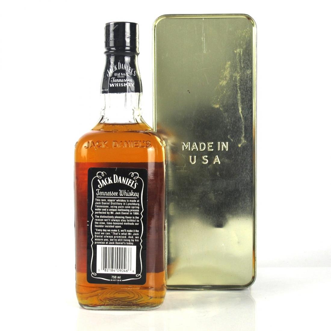 Jack Daniel's Old No. 7 Gift Tin Pre-2003 43%
