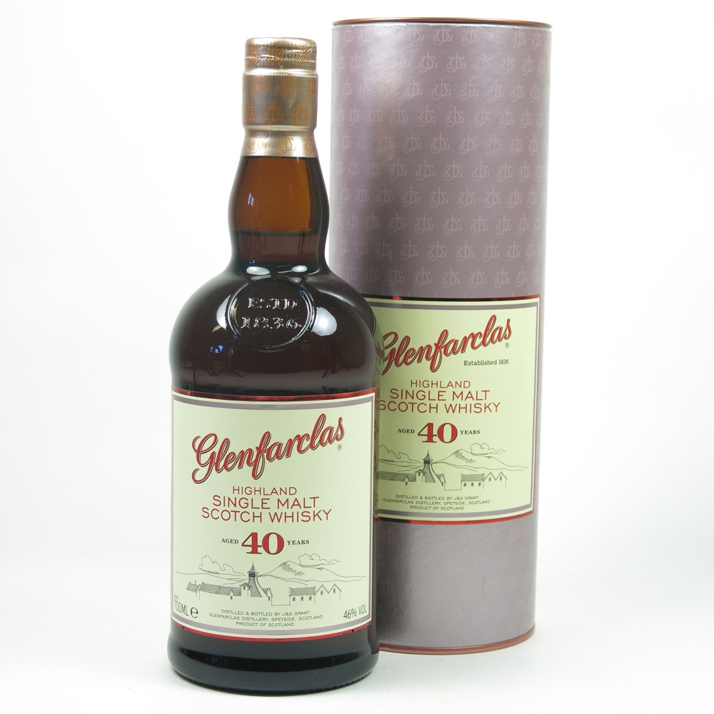 Glenfarclas 40 Year Old Front