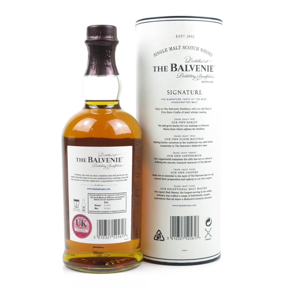 Balvenie 12 Year Old Signature Batch #004