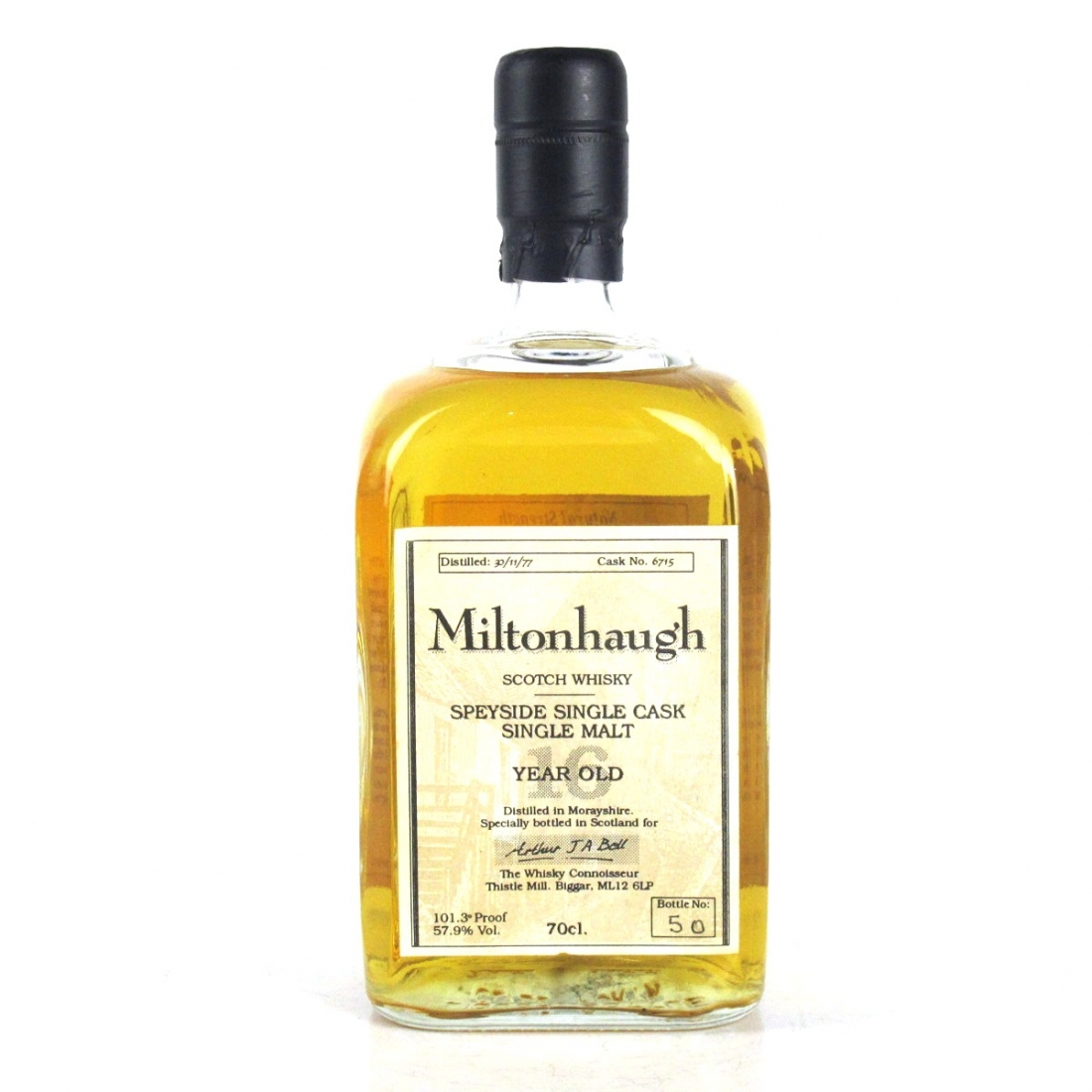 Balmenach / Miltonhaugh 1977 Whisky Connoisseur 16 Year Old