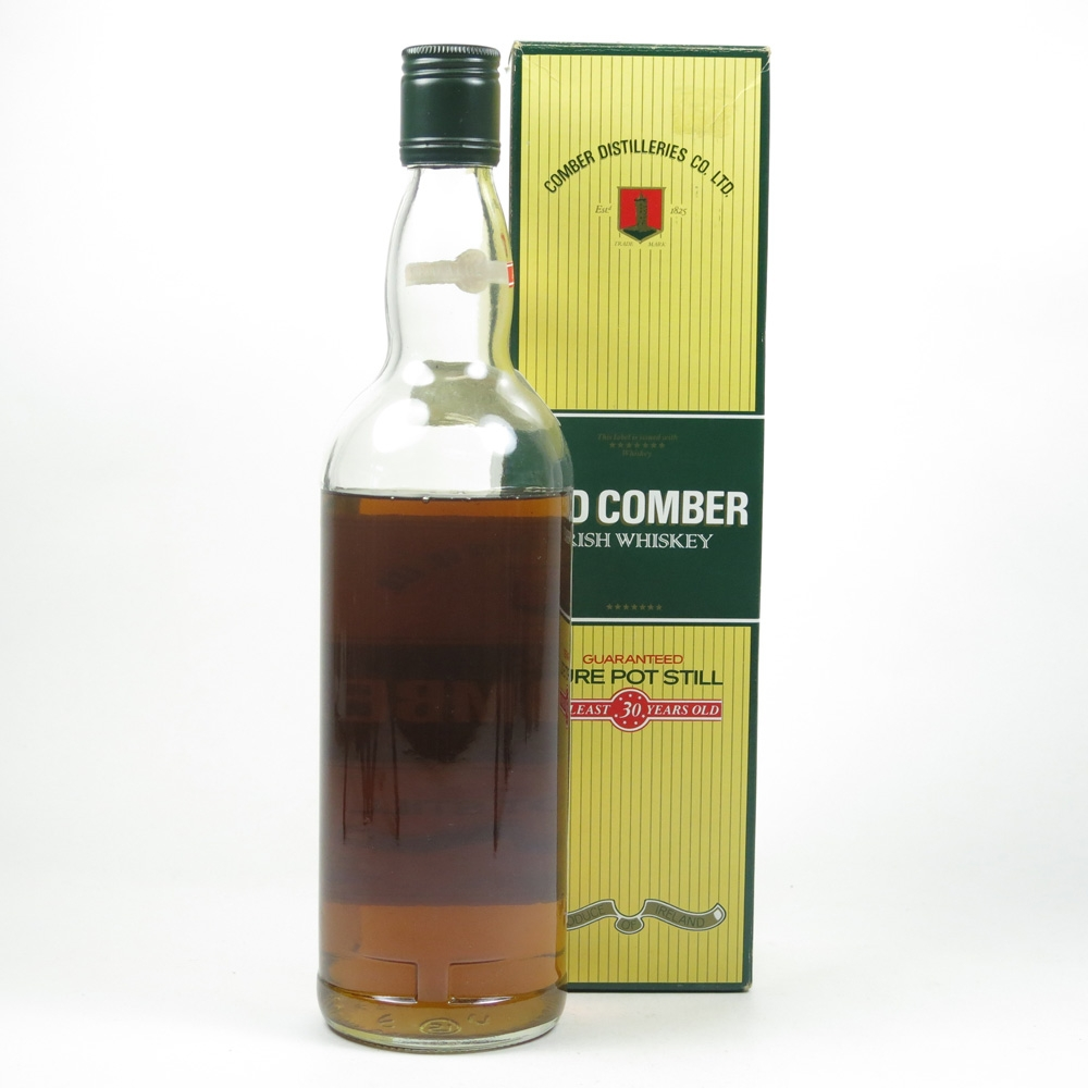Old Comber 30 Year Old 1980s Back