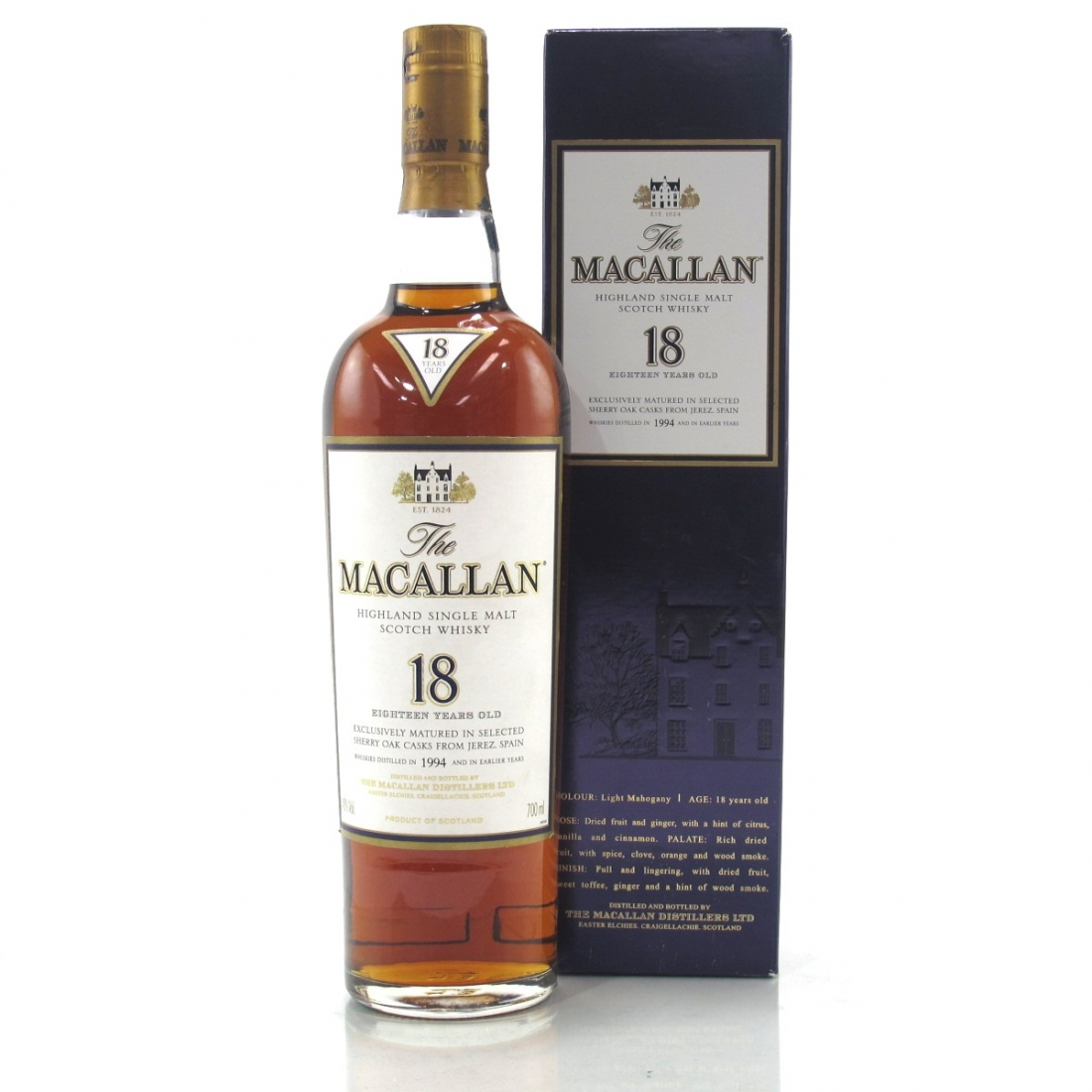 Macallan 18 Year Old 1994