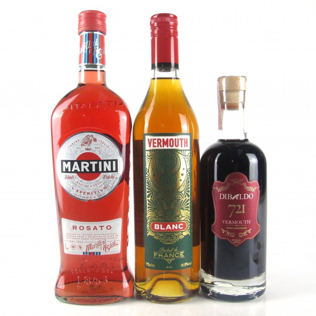 Miscellaneous Vermouth Selection 50cl, 70cl & 75cl