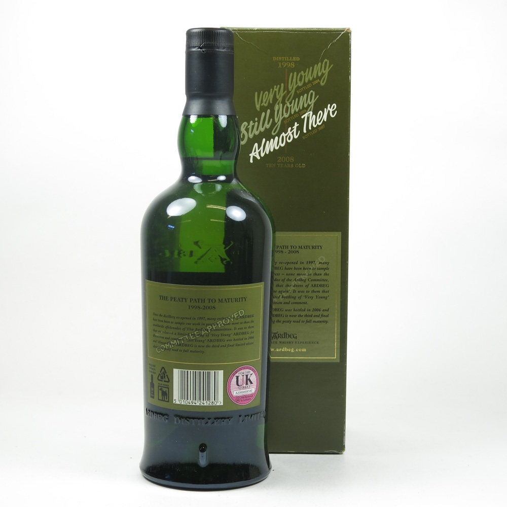 Ardbeg Almost There 1998 Back