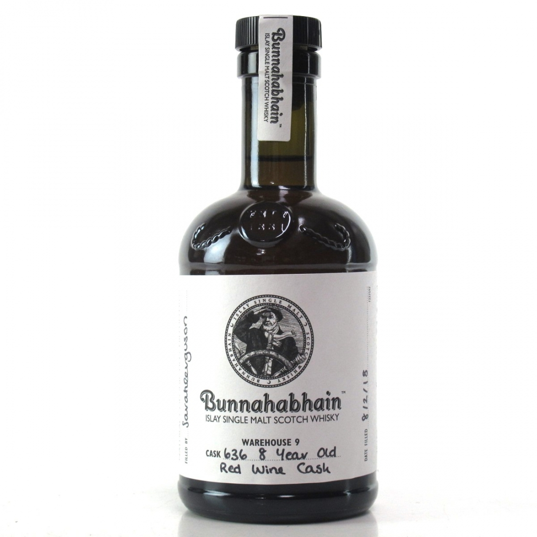 Bunnahabhain 8 Year Old Hand Filled 20cl / Red Wine Cask