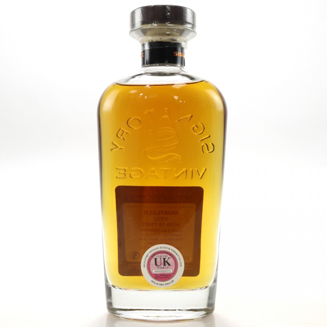 Mortlach 1990 Signatory Vintage 19 Year Old Cask Strength
