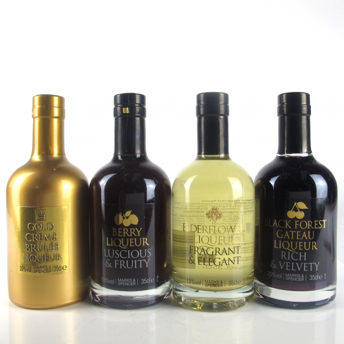 Marks and Spencer Liqueur Selection / 4 x 35cl