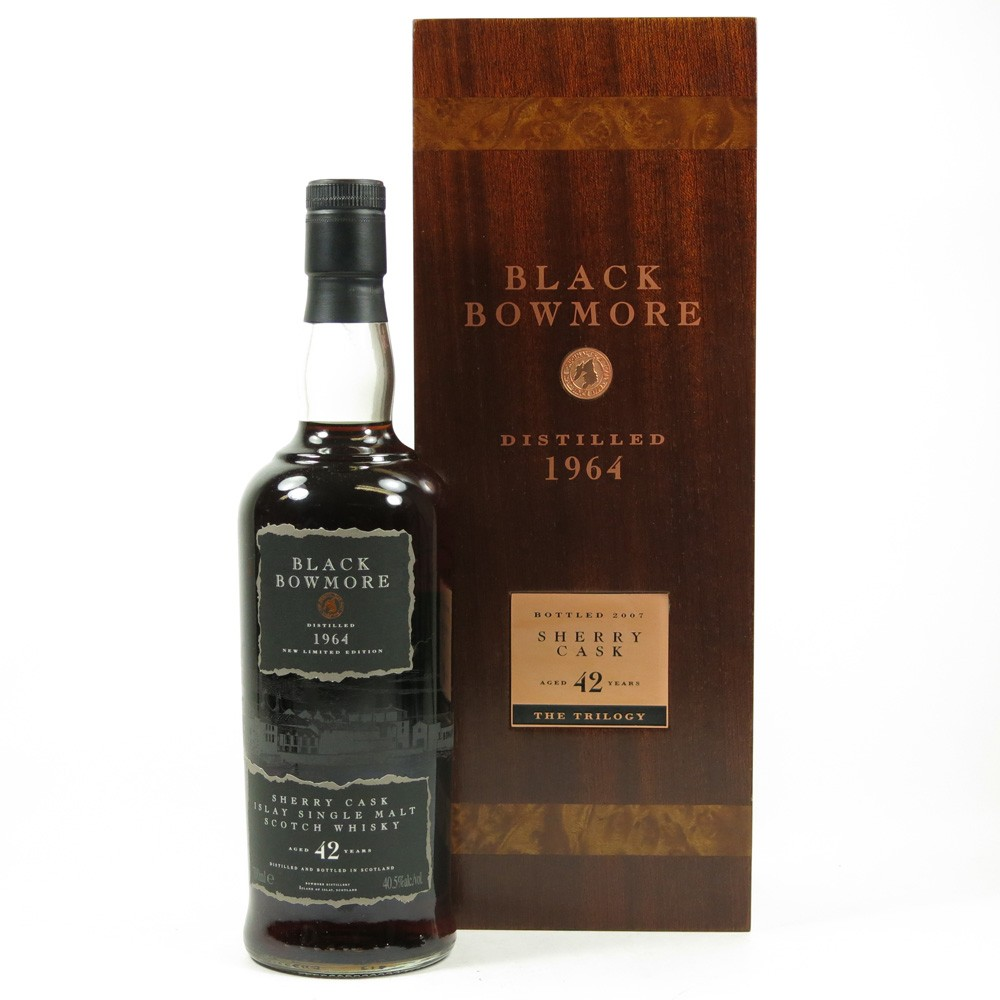 Bowmore 1964 Black Bowmore 42 Year Old Front