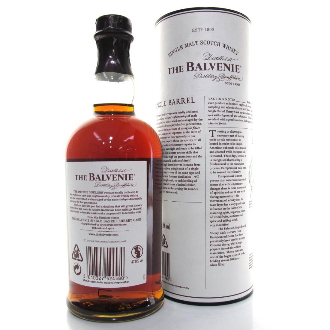 Balvenie 15 Year Old Single Barrel / Sherry Cask