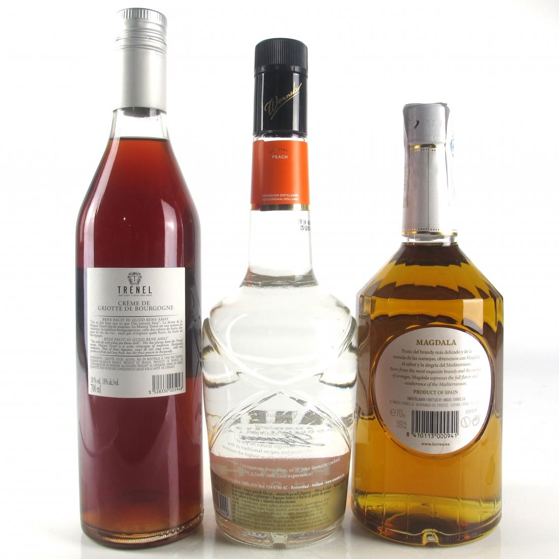 Miscellaneous Fruit Liqueur Selection 3 x 70cl