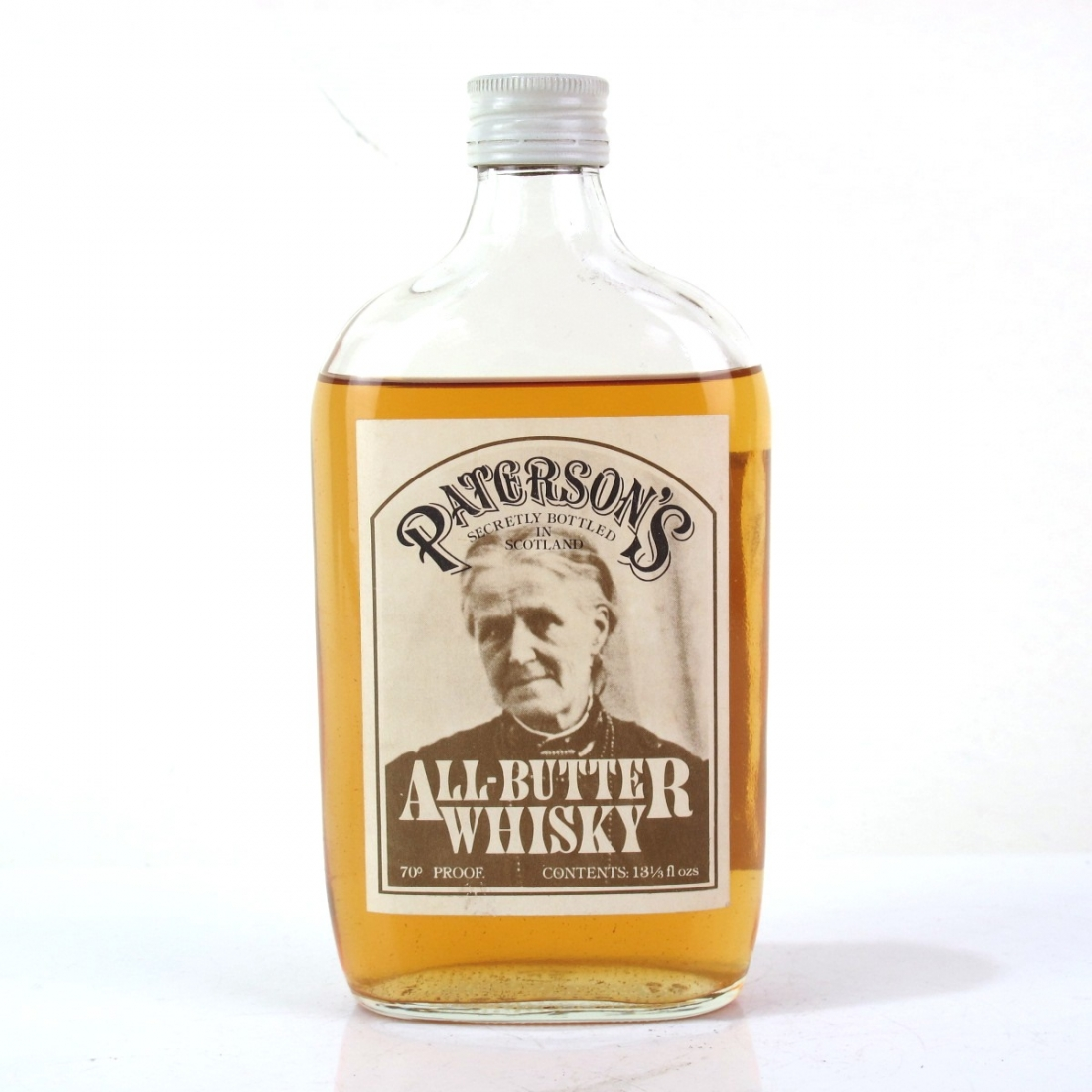 Paterson's All-Butter Whisky 13 1/3 Fl. Oz. 1970s